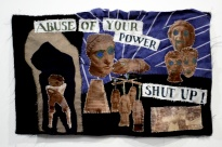 Anna Burel, 'Abuse of Your Power', 2012, photographic transfer on fabric