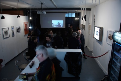 'Moving Street's exhibition opening