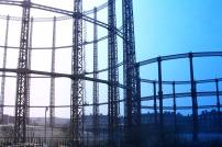 Gasometers by Regent's canal