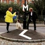 @ellecallons: #mnemoniccity #LondonLisbonBologna and now walk letter E @roundabout.lx